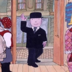 "Image for the Childrens programme ""Mr Benn"""