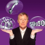 "Image for the Game Show programme ""Live Celebrity Who Wants to be a Millionaire"""