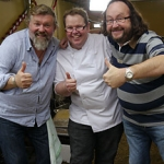 "Image for the Cookery programme ""The Hairy Bikers' Christmas Party"""
