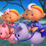 "Image for the Childrens programme ""Cloudbabies"""