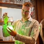 "Image for the Education programme ""Royal Institution Christmas Lectures 2012: The Modern Alchemist"""