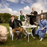 "Image for the Sitcom programme ""Blandings"""