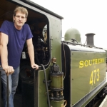 "Image for the History Documentary programme ""Locomotion: Dan Snow's History of Railways"""