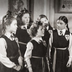 "Image for the Film programme ""The Belles of St. Trinian's"""