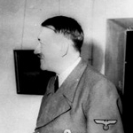 "Image for the History Documentary programme ""Hitler: A Profile"""