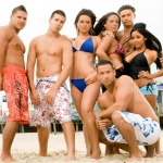 "Image for the Reality Show programme ""Jersey Shore"""