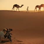 "Image for the Nature programme ""Wild Arabia"""