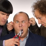 "Image for the Film programme ""The Three Stooges"""