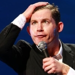 "Image for the Comedy programme ""Lee Evans: Wired and Wonderful - Live at Wembley"""