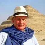 "Image for the History Documentary programme ""Egyptian Journeys with Dan Cruickshank"""