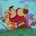 "Image for the Animation programme ""Dave the Barbarian"""