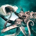 "Image for the Film programme ""Mega Shark v Giant Octopus"""