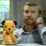 "Image for the Childrens programme ""The Sooty Show"""