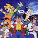 "Image for the Animation programme ""Beyblade"""
