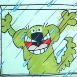 "Image for the Animation programme ""Roobarb"""