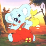 "Image for the Childrens programme ""Blinky Bill"""