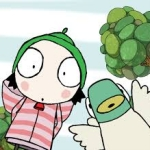 "Image for the Childrens programme ""Sarah and Duck"""