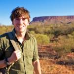 "Image for the Travel programme ""Australia with Simon Reeve"""