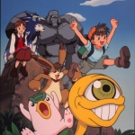 "Image for the Animation programme ""Monster Rancher"""