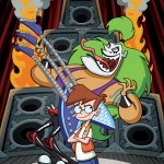 "Image for the Childrens programme ""My Dad The Rockstar"""