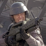 "Image for the Film programme ""Starship Troopers"""