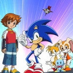 "Image for the Animation programme ""Sonic X"""