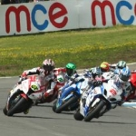 "Image for the Motoring programme ""British Superbike Highlights"""