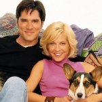 "Image for the Sitcom programme ""Dharma and Greg"""