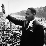 "Image for the History Documentary programme ""MLK"""