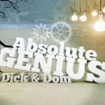 "Image for the Childrens programme ""Absolute Genius with Dick and Dom"""