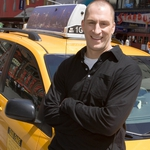 "Image for the Quiz Show programme ""Cash Cab"""
