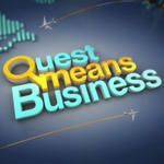 "Image for the Business and Finance programme ""Quest Means Business"""