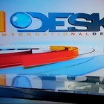 "Image for the News programme ""International Desk"""