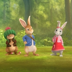 "Image for the Childrens programme ""Peter Rabbit"""