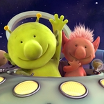 "Image for the Childrens programme ""Q Pootle 5"""