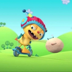 "Image for the Childrens programme ""Henry Hugglemonster"""