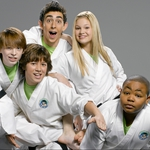 "Image for the Childrens programme ""Kickin' it"""