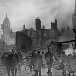 "Image for the History Documentary programme ""Britain at War"""