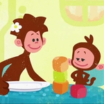 "Image for the Childrens programme ""Tee and Mo"""