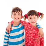 "Image for the Childrens programme ""Topsy and Tim"""