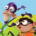 "Image for the Animation programme ""Fanboy and Chum Chum"""