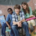 "Image for the Childrens programme ""Ned's Declassified School Survival Guide"""