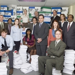 "Image for the Sitcom programme ""The Office: An American Workplace"""