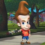 "Image for the Childrens programme ""The Adventures of Jimmy Neutron"""