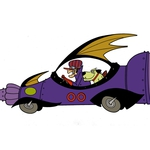 "Image for the Animation programme ""The Wacky Races"""