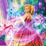 "Image for the Childrens programme ""Barbie Mariposa"""