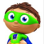 "Image for the Childrens programme ""Super Why!"""