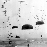"Image for the History Documentary programme ""Paratroopers"""