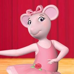 "Image for the Animation programme ""Angelina Ballerina: The Next Steps"""
