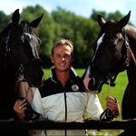 "Image for the Documentary programme ""At Home with Carl Hester"""